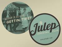 Julep Coasters