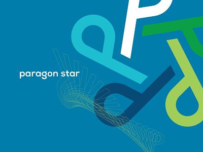 paragon star logodesign branding paragon p graphicdesign design