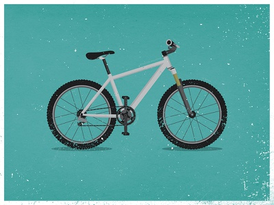Bike IllustrationR2 bike bicycle illustration specialized design wheels texture
