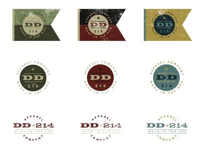 DD214 Logos