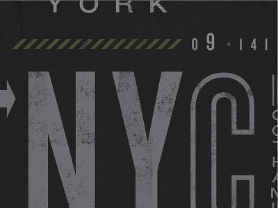 NYC signage nyc design typography