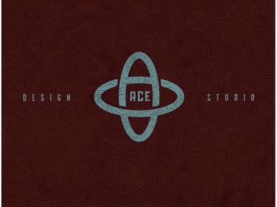 Ace Design Studio adam atom atomic branding logo ace design