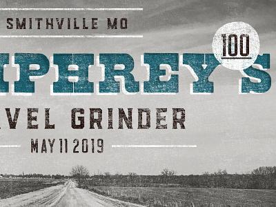 Humphreys 100 Gravel Grinder country gravel biking texture rural western design