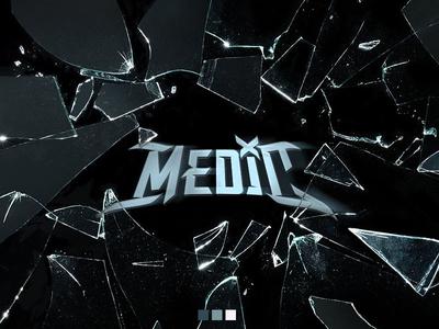 Medic - Identity vector branding hip hop logo typography music lettering identity graphic  design design
