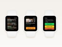 Wait – Add Waiting Time Flow (Apple Watch)
