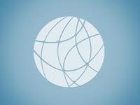 Globe glyph