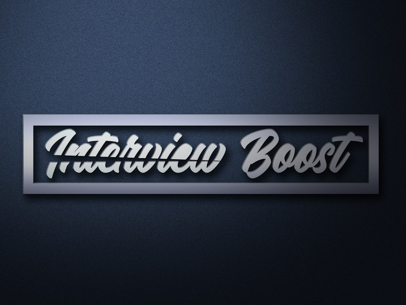 new logo  Company name Interview Boost
