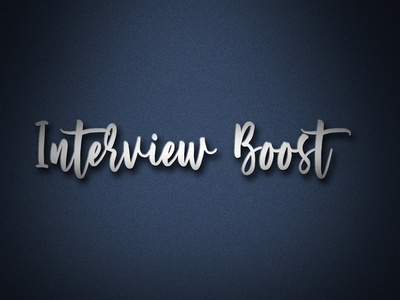 Logo Name Interview boost