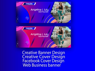 Creative Banner Design businessbranding brandingdesigne vector illustration design branding