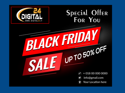 new banner  Design Black Friday Sale typography brandingdesigne businessbranding vector logo design illustration branding
