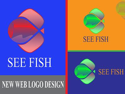 New See Web Logo Design identitydesign designlogo logodesign ui ux typography brandingdesigne businessbranding logo vector illustration design branding