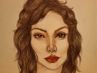 Luna Drawing | Sketching | Portrait | Picture
