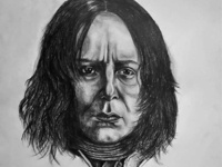 Severus Snape Drawing / Sketch