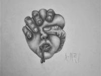 Migraine Drawing | Sketching | Karakalem