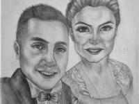 Wedding Drawing | Sketching | Karakalem
