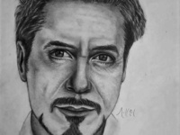 Robert Downey Jr. Drawing | Sketching | Karakalem