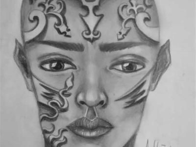 Warrior Drawing | Sketching | Karakalem