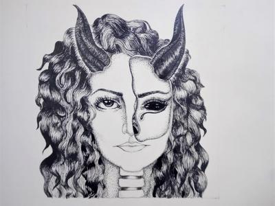 Face Drawing | Sketching | Karakalem