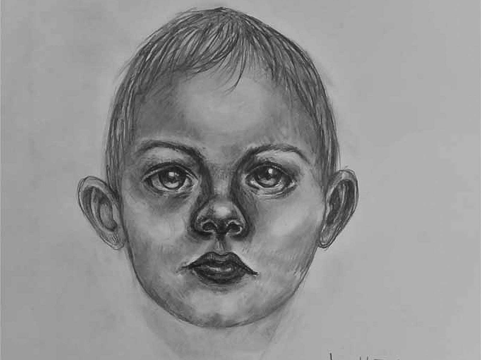 Horror baby drawing sketching karakalem by hediyelik