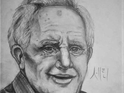 J.R.R. TOLKIEN Drawing | Sketching | Karakalem
