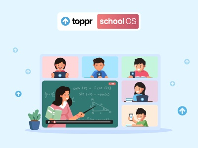 Live Class Illustration pandemic e-learning online learning illustration graphic design graphics kids illustration illustration design branding