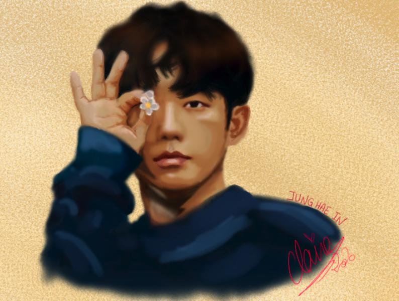 FANART - Korean Actor : Jung Hae In pencil drawing pencil art drawing draw illustration design