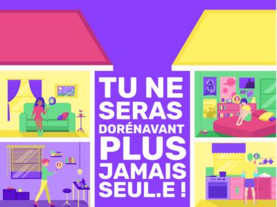 Illustration SUNapp drawing branding app affiche ux ui vector illustrator illustration design