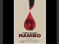 Rambo - inspiration Olly Moss