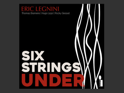 Album cover - Eric Legnini project blue note illustrator rope guitar piano jazz album cover music player music drawing illustration design