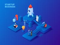 Isometric Startup
