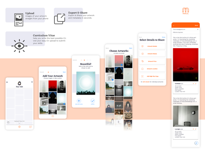 Marcel App uxui design