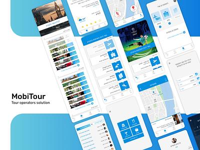 MobiTour tour guide app design uxui design