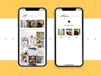 Photo Album App