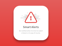 Smart Alert source sans pro illustration icon stop ui alert