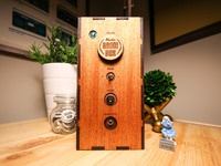 Wooden big boombox photos 3