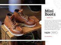 Mini boots xl