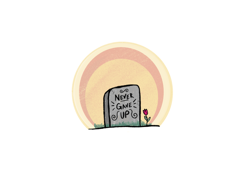 Tombstone ipad procreate letters death up gave never rose tombstone lettering hand lettering