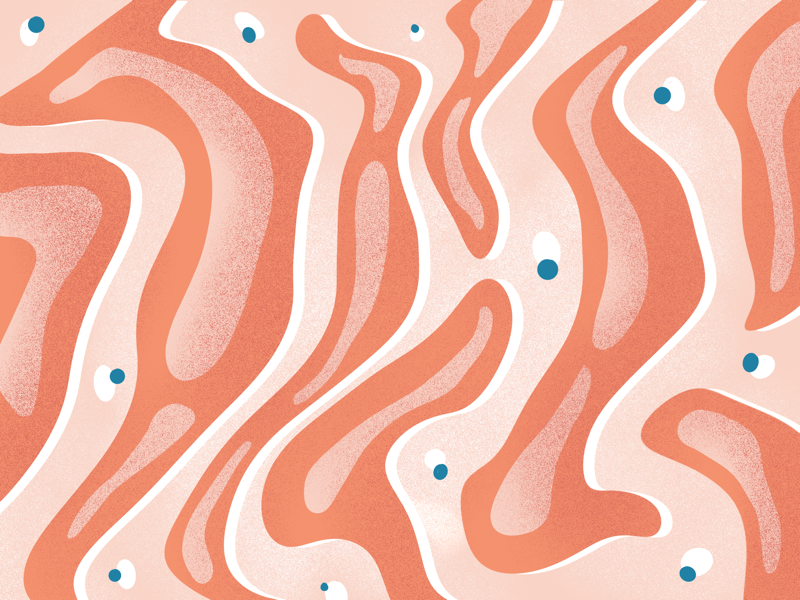 Pattern waves ipad pattern texture procreate