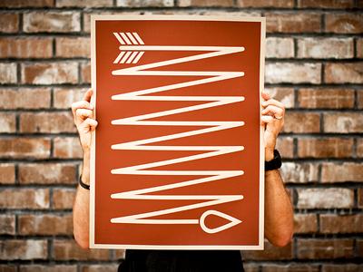 Arrow print 400x300