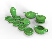 Tea Set - 3D Modeling   Maya