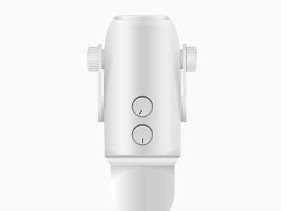Blue Yeti Microphone (WIP) microphone illustration design wip