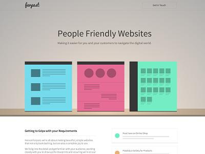 Farpast Site [WIP] web design identity brand css php html jquery wordpress
