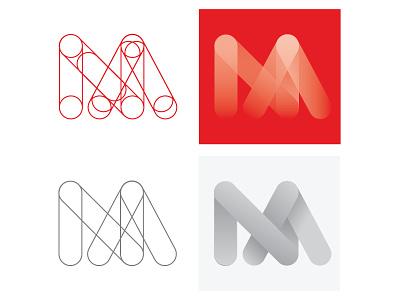 Self Branding #1 brand logo design mockup lines