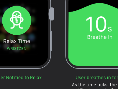 Wrist Zen applewatch ui watch apple concept design