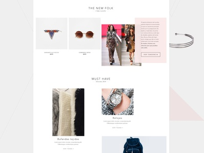 fashion ecommerce design