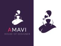 DESIGN LOGO COLLECTION  FOR AMAVI HOUSE OF DESIGNER