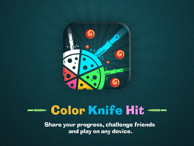 ⚔️Color Knife Hit ⚔️ Unity Game🏴