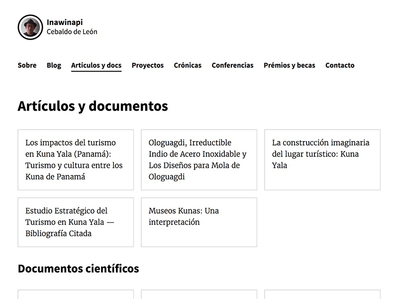 My dad's new site figma css grid layout content black and white spanish panama