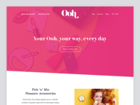 Ooh by Je Joue - Landing Page