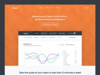 TeamEQ - Public Landing Page